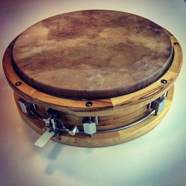 werbel, hand snare drum, solid shell snare drum